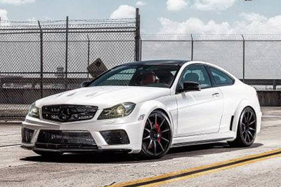 Mercedes -Benz C63 AMG Black Series от MC Customs
